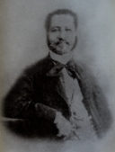 Buenaventura Baez Mendez (1812-1884),  ca. 1865 (collectie  Instituto Dominicano de Genealogia)