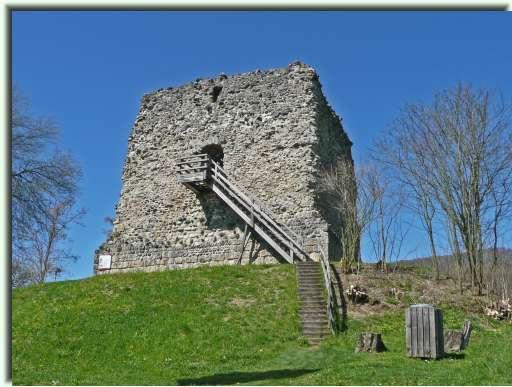 Ruine Schloss Freienstein nabij Eglisau Bron: http://www.alpine-wandergruppe.de/irchel.htm