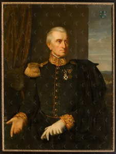Portret van William Archibald Bake (1783-1843), toegeschreven aan J.H. Neuman, 1844 (particuliere collectie)