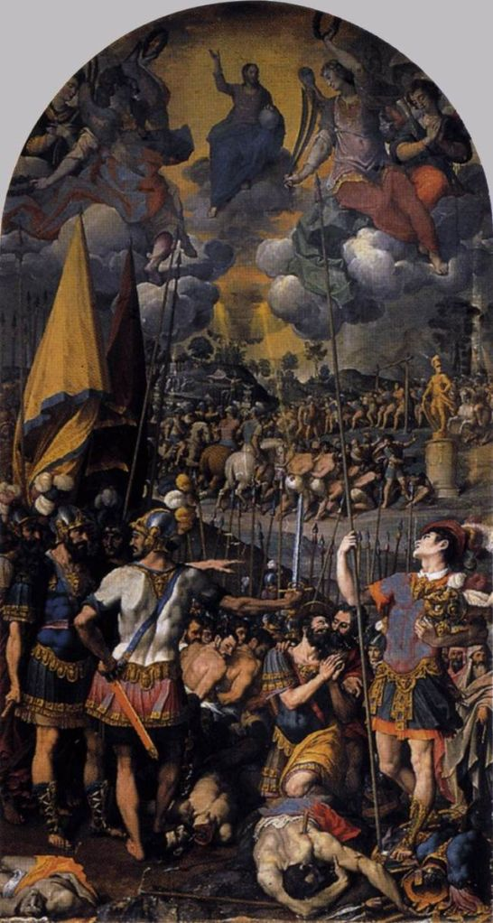 Het martelaarschap van Sint Mauritius (Dom van Maagdenburg)
