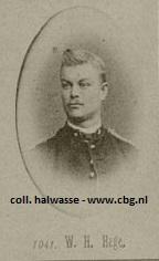 W.H. Hage, (collectie Halwasse CBG)