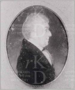 Jhr. Mr. I.J. Rammelman Elsevier (1770-1841), toegeschreven aan Johannes Anspach, ca. 1800-1824 particuliere collectie)