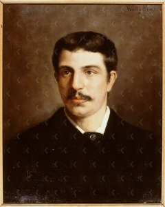 Louis Ernst Clement Gustave Wertheim Aijmes  (1856-1928), vader van Wally Moes, 1881 (particuliere collectie)